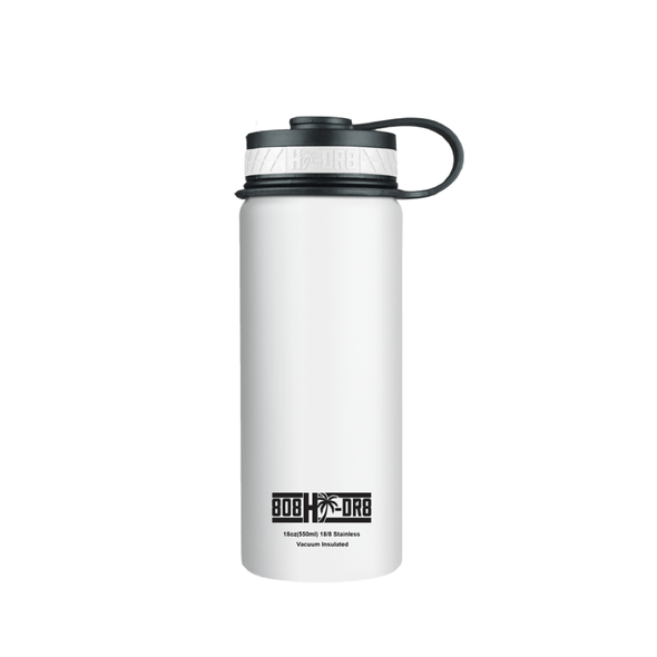 White Pikake 18 oz Bottle - 808HIDR8