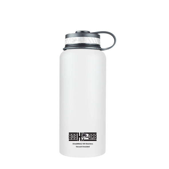 White Pikake 32 oz Bottle - 808HIDR8