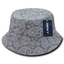 Load image into Gallery viewer, Paisley Bucket Hat