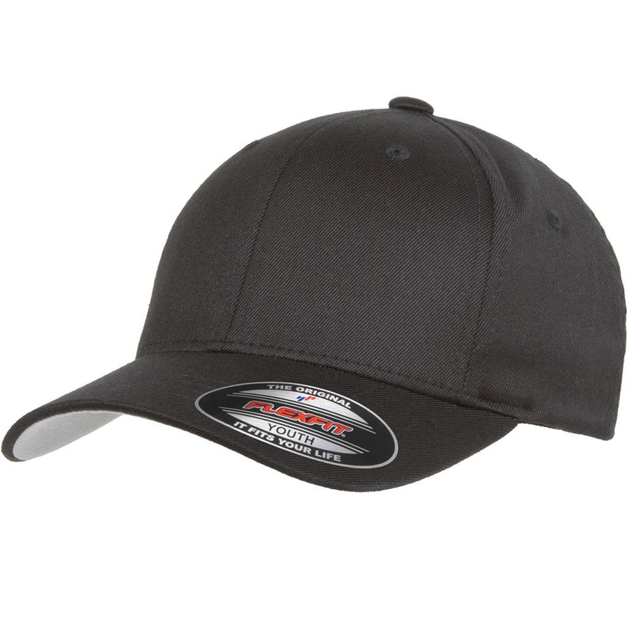 Flexfit Youth Hat (Blk)