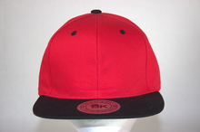 Load image into Gallery viewer, 2 Tone Flatbill Snapback - CustembroideryUSA