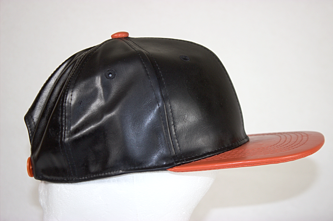 Leather Flatbill Snapback - CustembroideryUSA