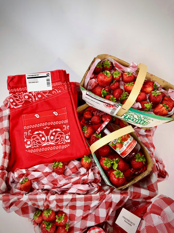 Strawberry Paisley Jeans
