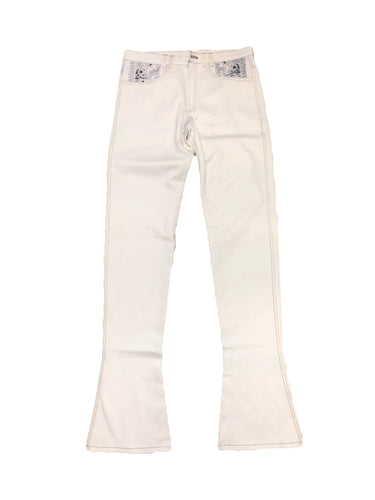 Angel Paisley Jeans