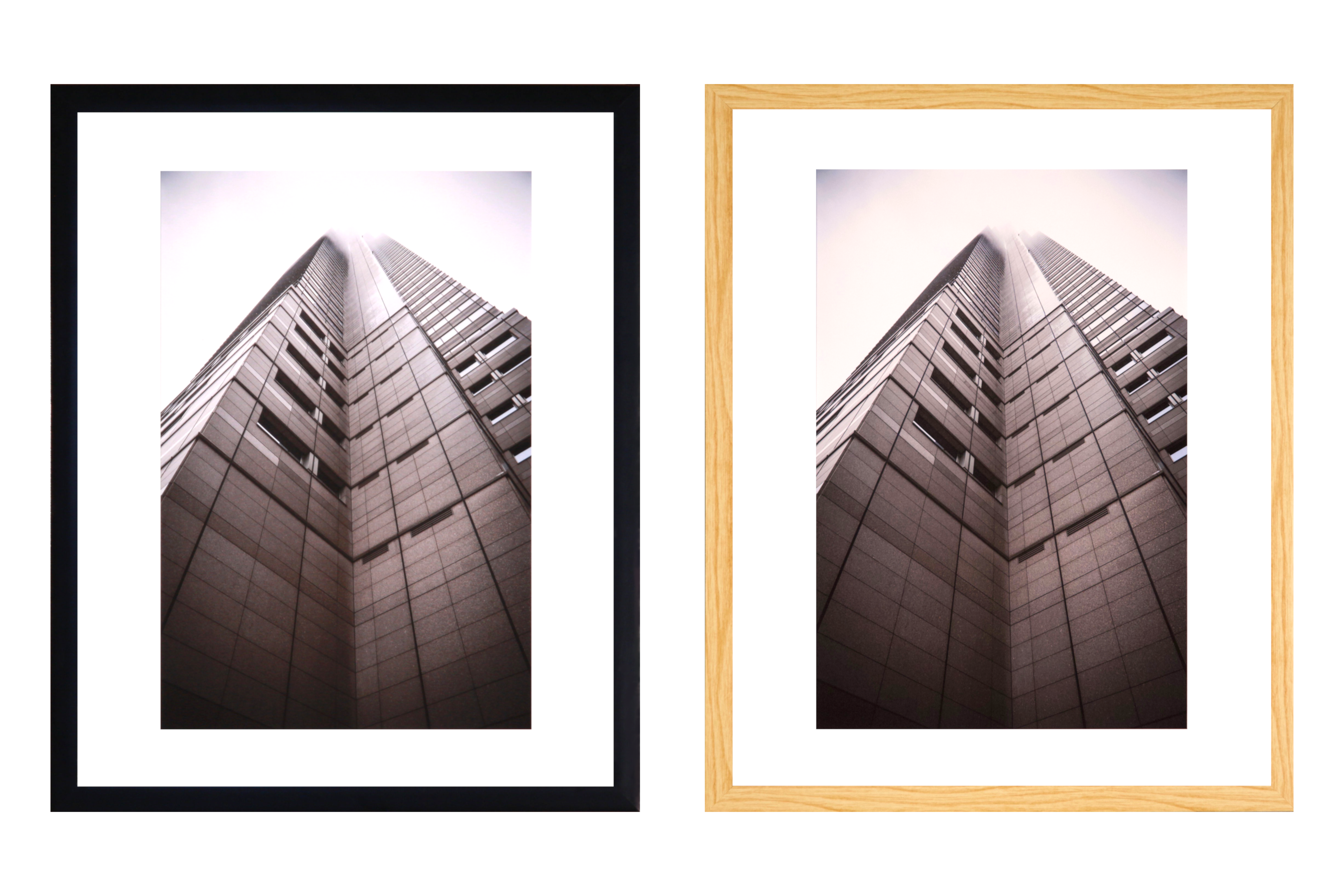 16x20 black and birch picture frames by Out Of Focus