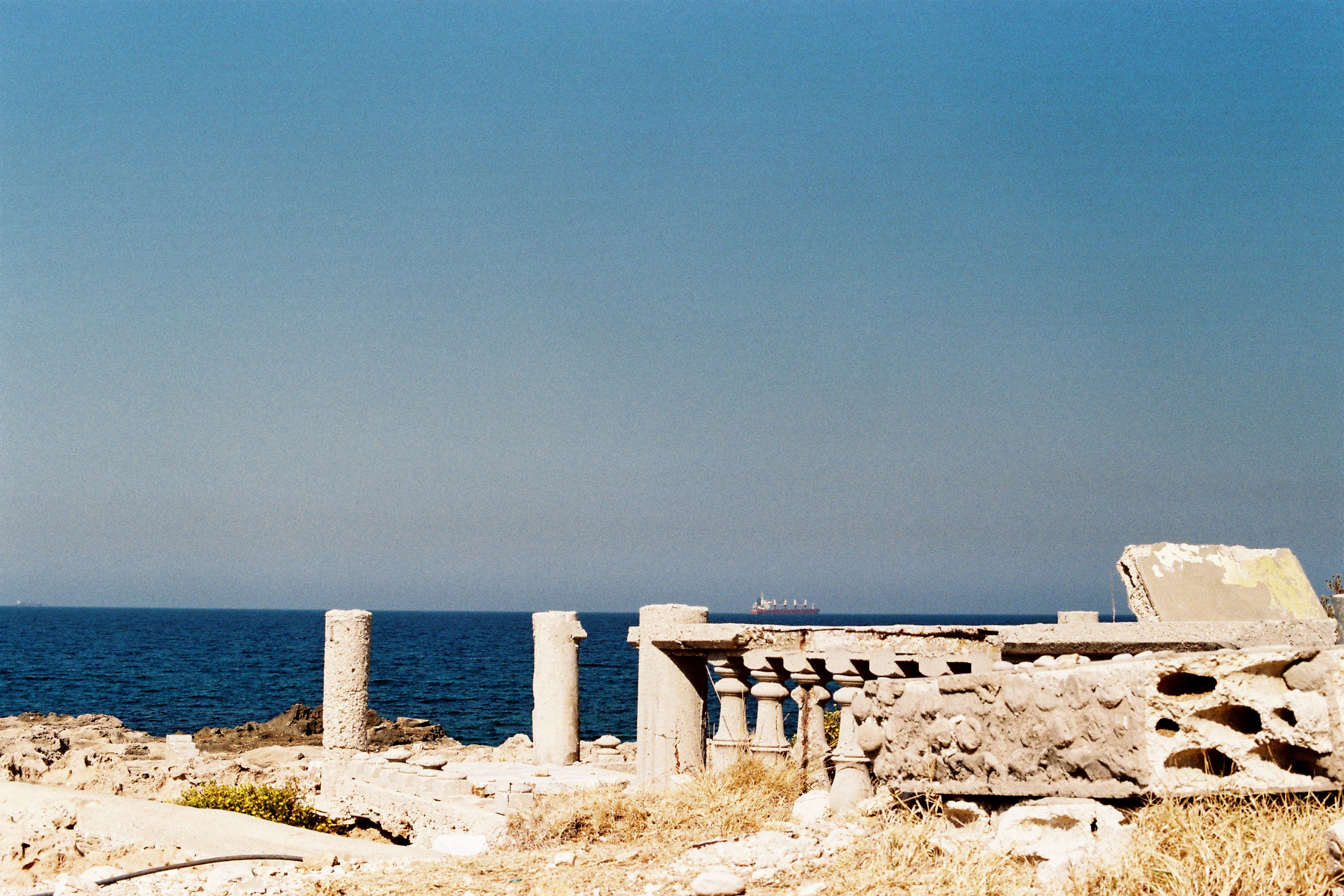 """Modern Ruins In Barbara"" photograph by Clara Abi Nader"
