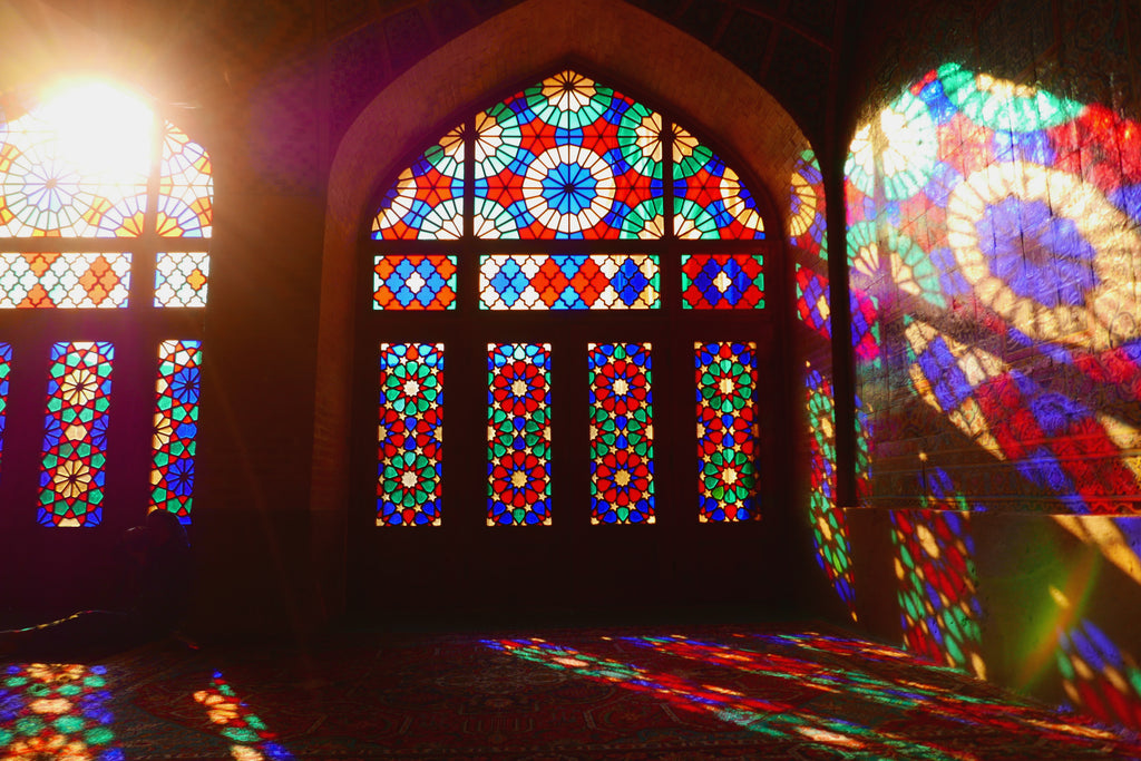 """Morning Sun, Nasir Ol Molk, Shiraz, 2017"" photograph by Kristoffer Engholm Aabo"