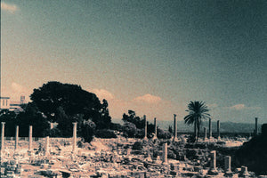 """Ruins In Tyre"" photograph by Clara Abi Nader"