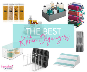 When looking for the best kitchen organizing products to buy for your kitchen, it is hard to know what to get when there are so many options available