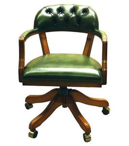 Nice Vintage Wooden Desk Chair