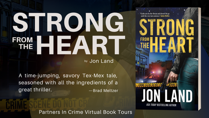 Strong from the Heart by Jon Land Tour & #Giveaway