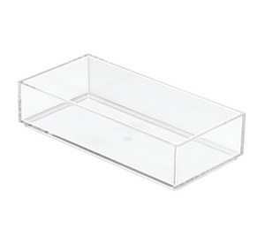 Clarity Drawer Organizer, 4x8x2