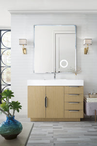 "Bainbridge 48"" James Martin Tribeca Oak Bathroom Vanity"