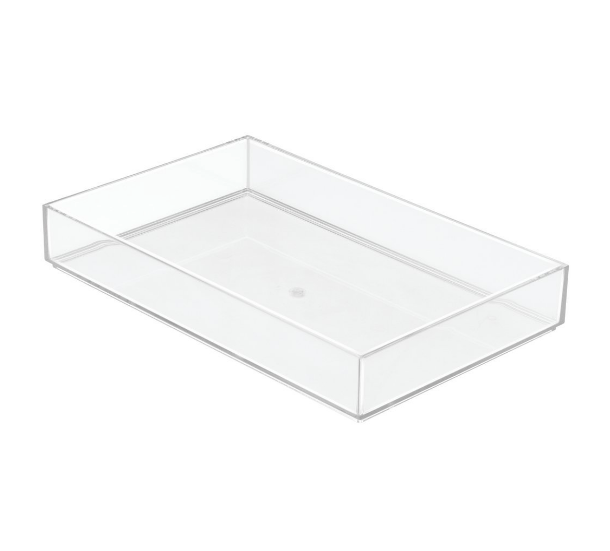 Clarity Drawer Organizer, 8x12x2