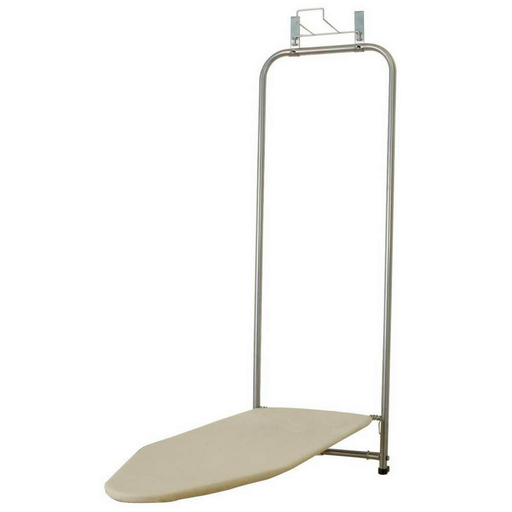 Budget friendly bs portable ironing board for space saving door hanging folds up or down storage solution fit apartments offices kitchen easy to use small steel cotton ebook by bada shop