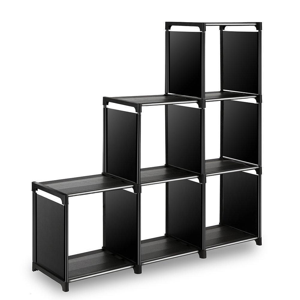 Try tomcare cube storage 6 cube closet organizer shelves storage cubes organizer cubby bins cabinets bookcase organizing storage shelves for bedroom living room office black