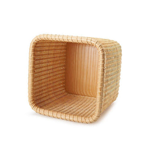 Discover tengtian nantucket basket extraction paper basket tissue boxtoilet paper storage containers paper towel holders woven rattan handwoven square rattan tissue box cover office kitchen bath livingoak