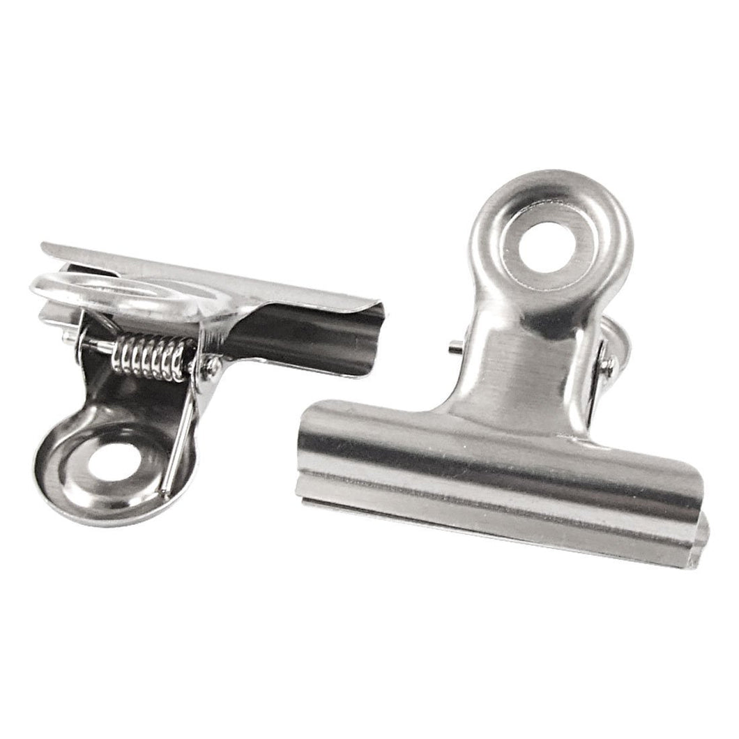 Uxcell Stainless Steel File Binder Clips Clamps, 2