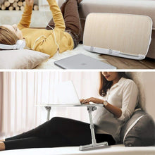 Selection laptop lap desk foldable laptop table stand height adjustable laptop desk for bed and sofa portable lap desk bed tray table office standing desk riser computer desk drafting table
