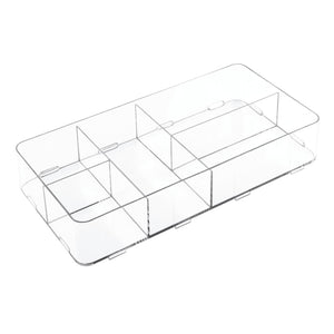 "Clarity 16"" Interlocking Divided Drawer Organizer"