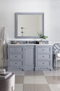 "De Soto 60"", James Martin Silver Grey Bathroom Vanity"