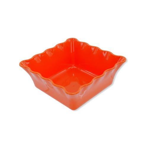 Decorative Square Plastic Bowl ( Case of 36 )