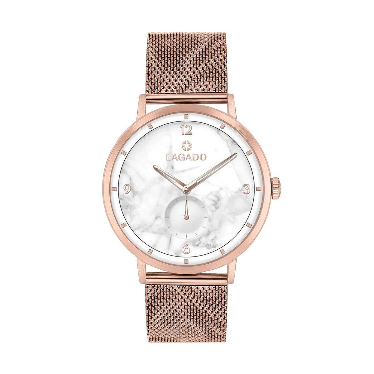 Marble Charm Mesh-Lagado Watches