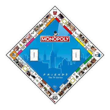 Gioco da Tavolo Hasbro 27229 Friends Monopoly (Refurbished A+)