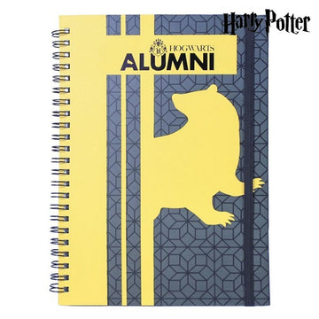 Quaderno con Anelli Hufflepuff Harry Potter