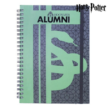 Quaderno con Anelli Slytherin Harry Potter