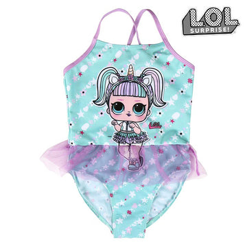 Costume da Bagno Bambina LOL Surprise! Turchese