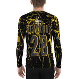 All Over Print Long Sleeve Compression Shirt Men's