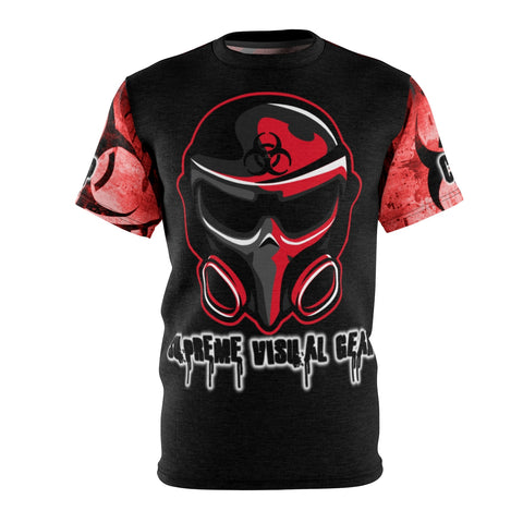 All Over Print T-Shirt Medium Weight, SVG Biohazard