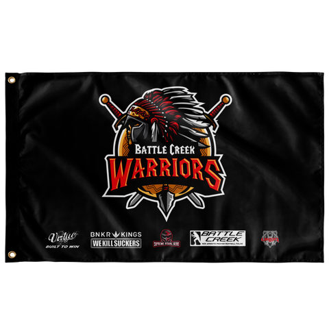 Flag, Battle Creek Warriors