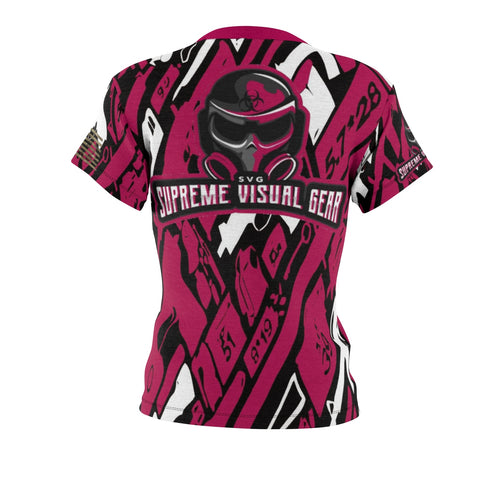 All Over Print T-Shirt Women's, Medium Weight