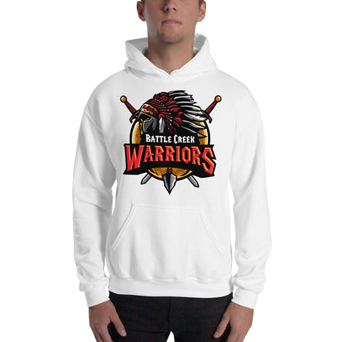 Front/Back Hoodie, Battle Creek Warriors