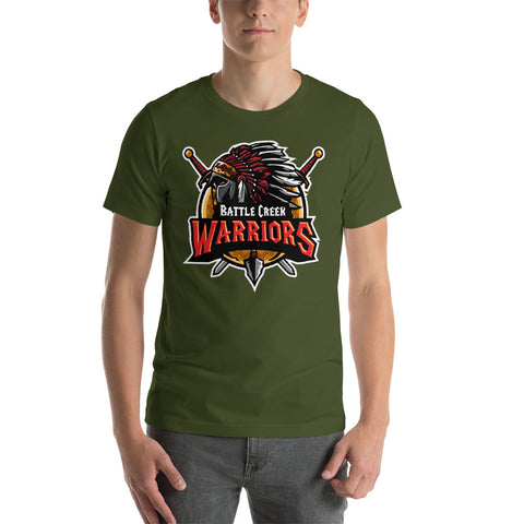 Front/Back T-Shirt, Battle Creek Warriors