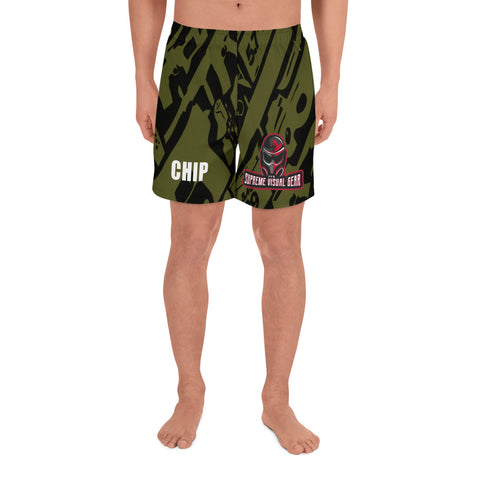All Over Print Athletic Shorts Men's