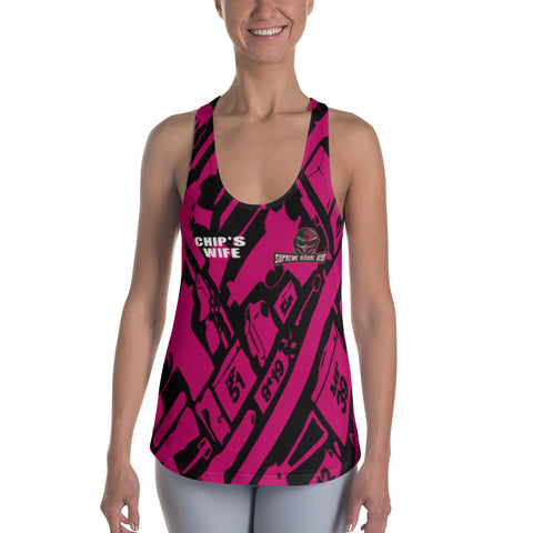 All Over Print Racerback Tank Women's
