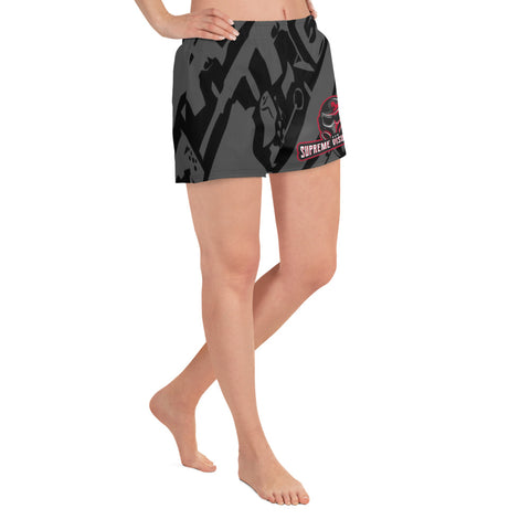 All Over Print Athletic Shorts Women's