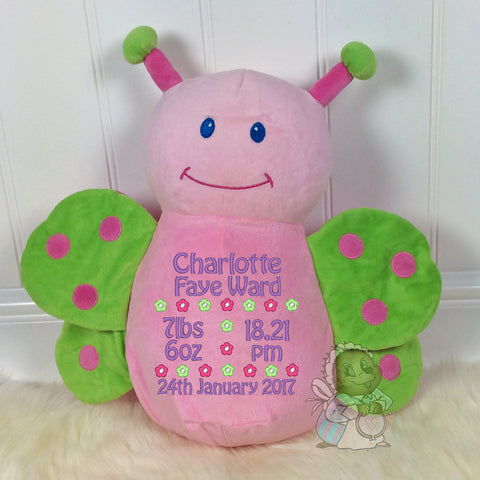 Personalised Butterfly - Cubby