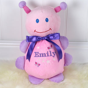 Personalised soft toy Gift for Girls Mrs Prickles
