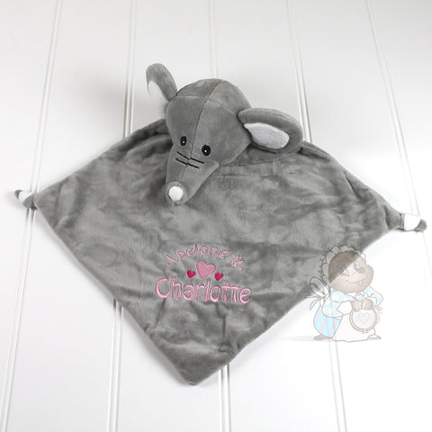 Personalised Blankie - Elephant
