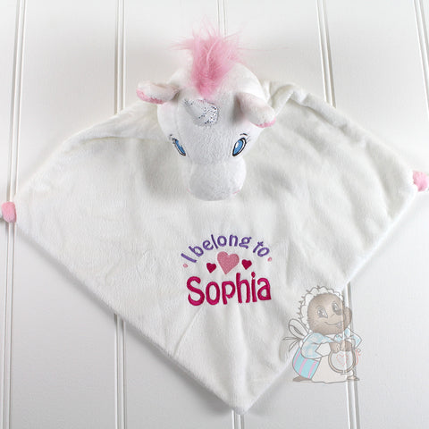 Personalised Blankie - Unicorn