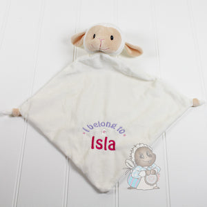 Personalised Blankie - Lamb