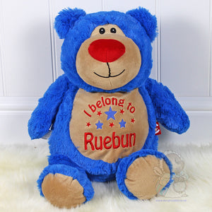Personalised Blueberry Bear