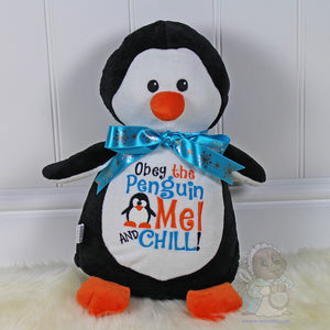 Personalised Toy Penguin by Mrs Prickles Personalised Gifts