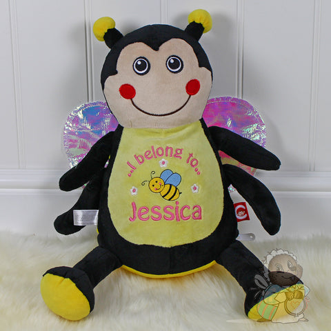 Personalised Bumble Bee - Cubby