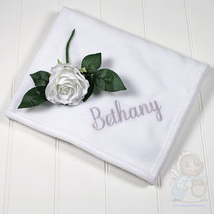 White Fleece Blanket