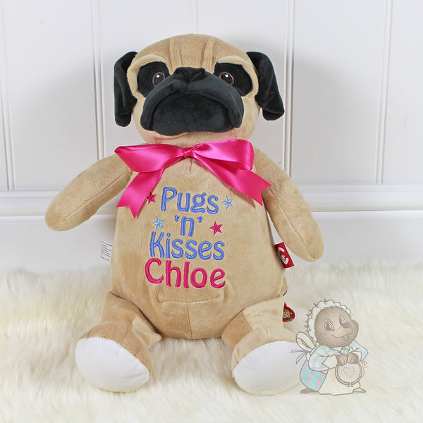 Personalised Pug - Cubby